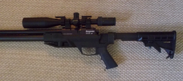 My new  25 cal  Benjamin Armada - Airguns & Guns Forum