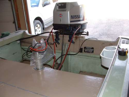 aluminum boat transum repair